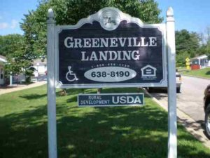 Greeneville Landing Apartments, Greeneville, Tn.